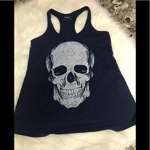 Express XS Skull Razorback Shirt